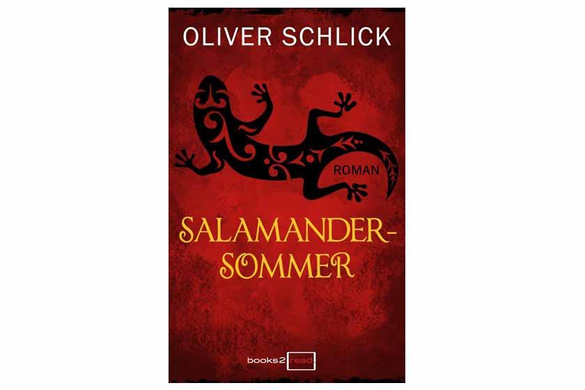 Buchcover: Salamandersommer