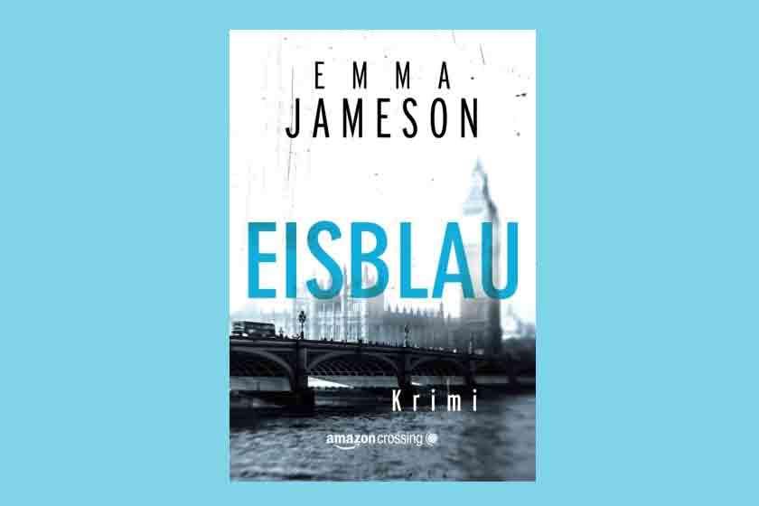 cover Eisblau von Emma Jameson