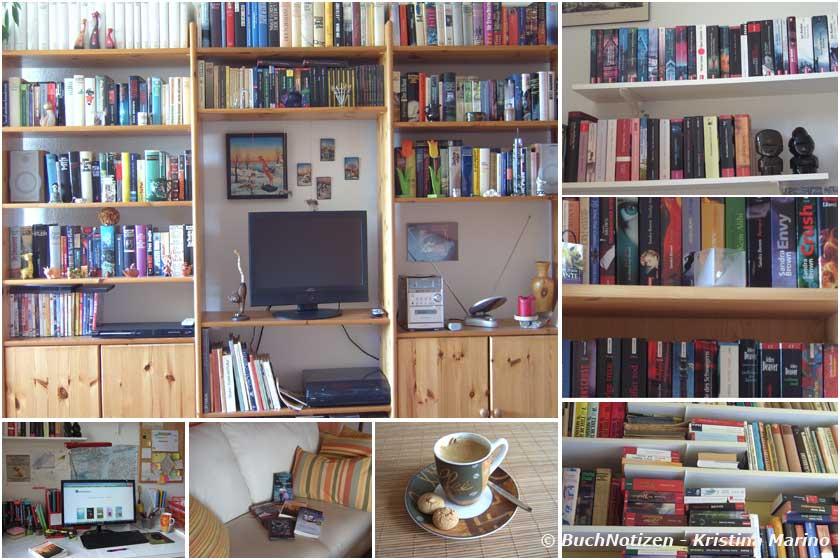 wirbloggenbücher - Meine Bücherregale