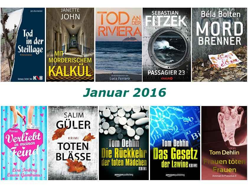 Cover im Januar 2016 gelesener Buecher