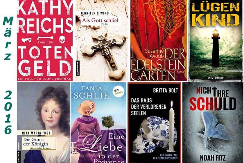 Cover im Maerz gelesener Buecher