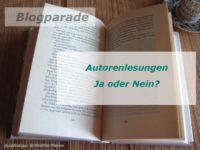 Was haltet ihr von Autorenlesungen?