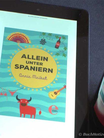Cover Allein unter Spaniern