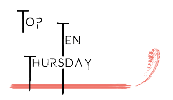 Logo Top Ten Thursday von buecher-bloggeria.de