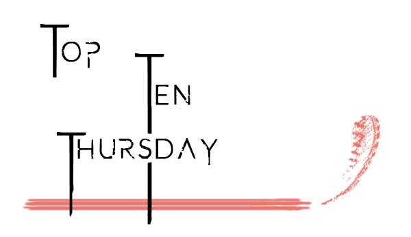 Logo Top Ten Thursday von buecher-bloggeria.de