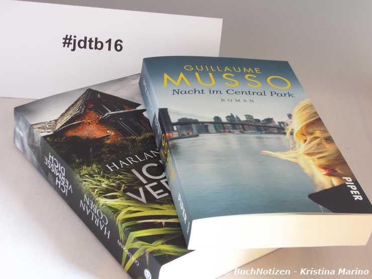 Zwei Taschenbücher #jdtb16