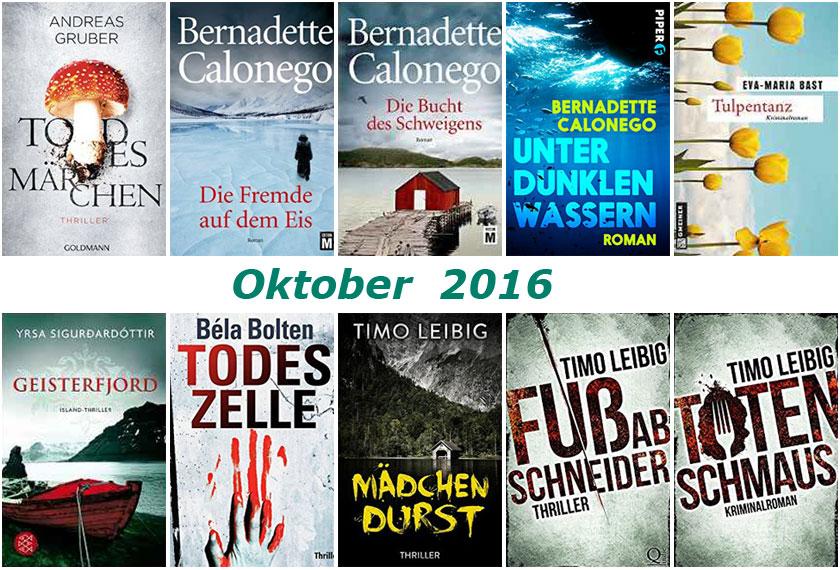 Cover Rückblick Oktober 2016