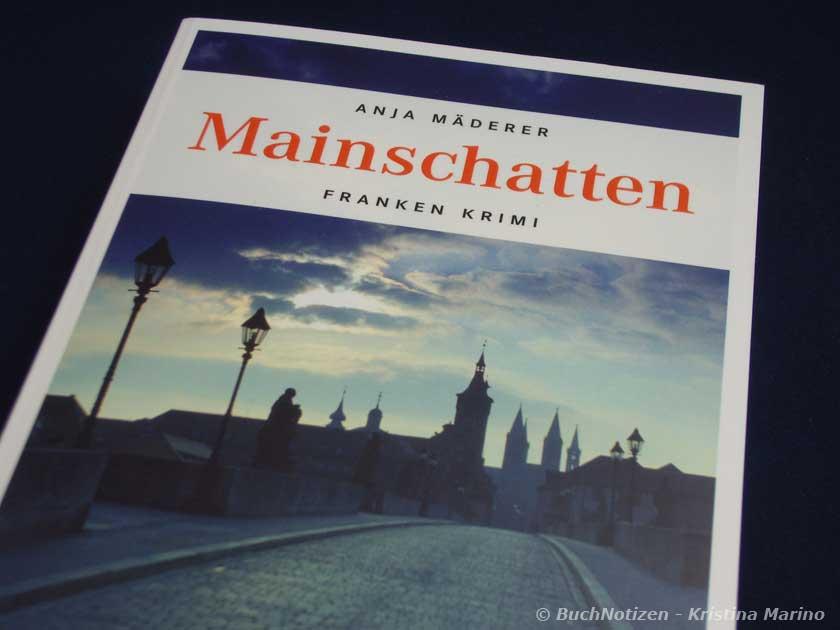 Cover Mainschatten von Anja Mäderer