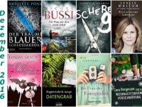 Rückblick Dezember 2016 - Ein Bücherjahr geht zu Ende