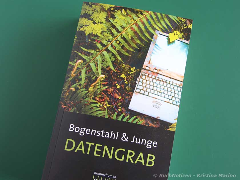 Cover Datengrab von Bogenstahl + Junge