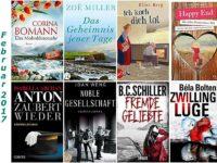 Rückblick Februar 2017 - Beeindruckende Romane und kurzweilige Krimis