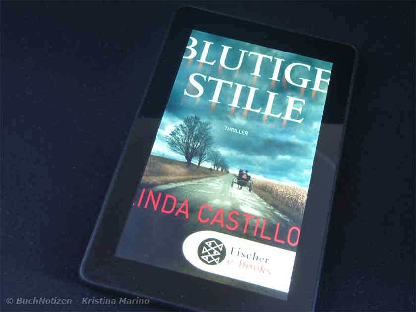 Cover Blutige Stille