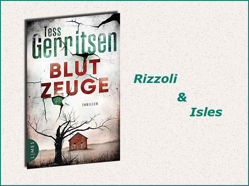 Cover Blutzeuge - Tess Gerritsen