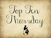 Top Ten Thursday #378 - neue Buchreihen