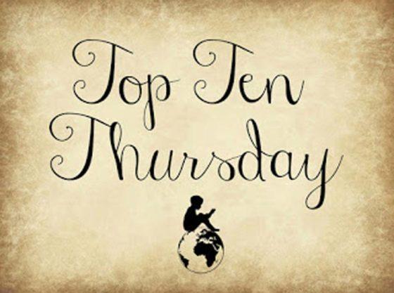 Top Ten Thursday #412 - meine liebsten Autorinnen
