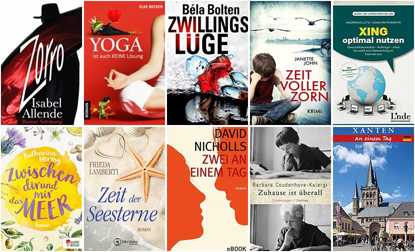 Top Ten Thursday #363 – Titel mit X, Y, Z