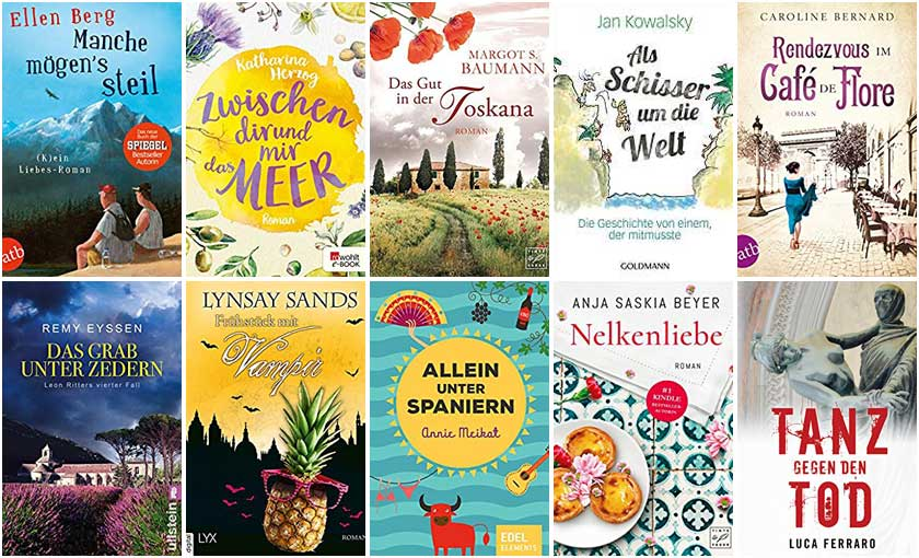 Cover Top Ten Thursday - Sommerbücher