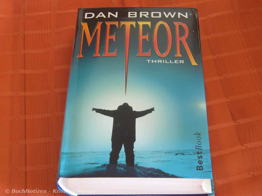 Cover Meteor von Dan Brown