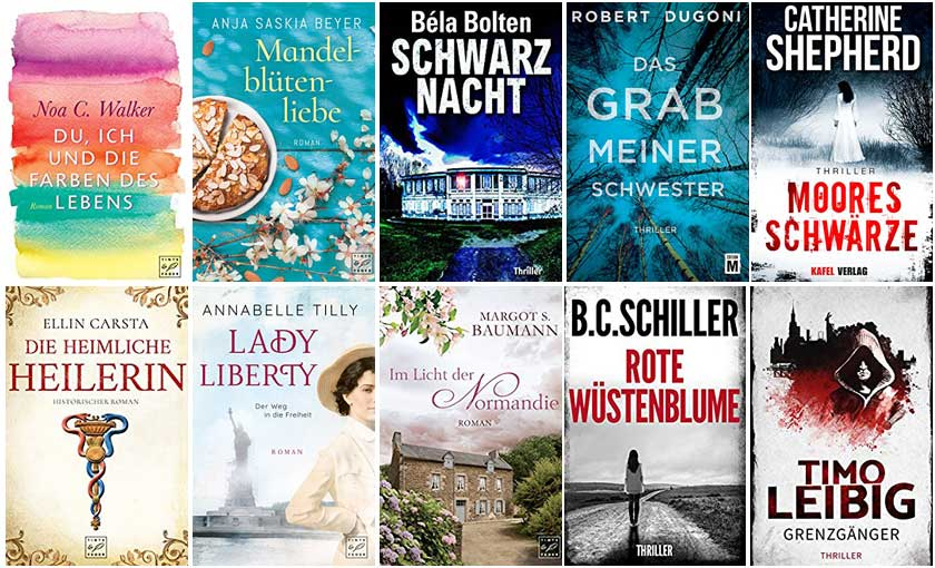 Top Ten Thursday #376 – Bücher von Self-Publishern
