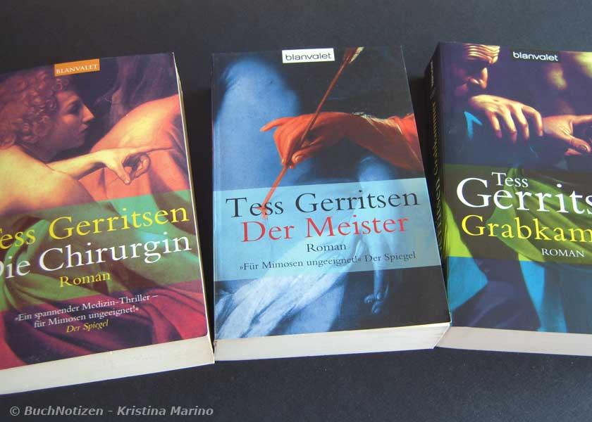 Cover Bücher von Tess Gerritsen