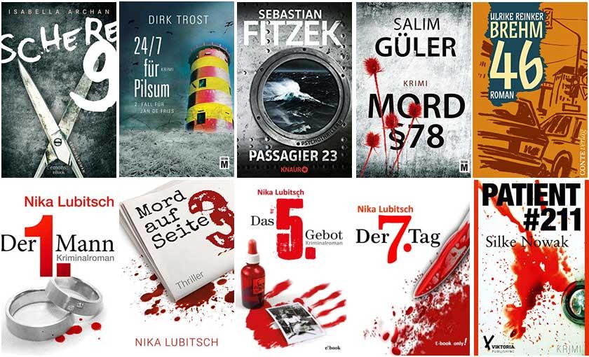Top Ten Thursday #384 – Bücher mit einer Zahl im Titel