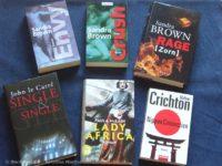 Top Ten Thursday #387 - deutsche Bücher mit englischen Buchtiteln