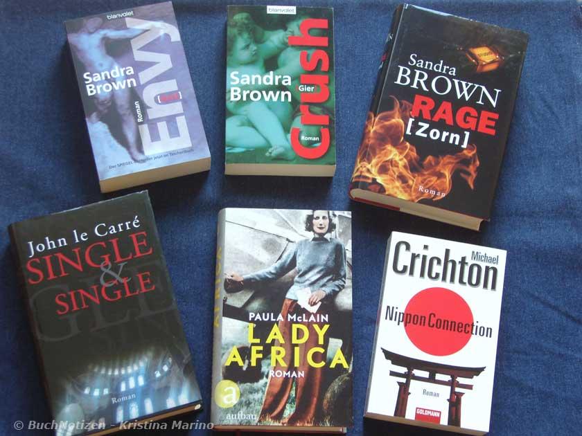Top Ten Thursday - deutsche Bücher mit englischen Buchtiteln