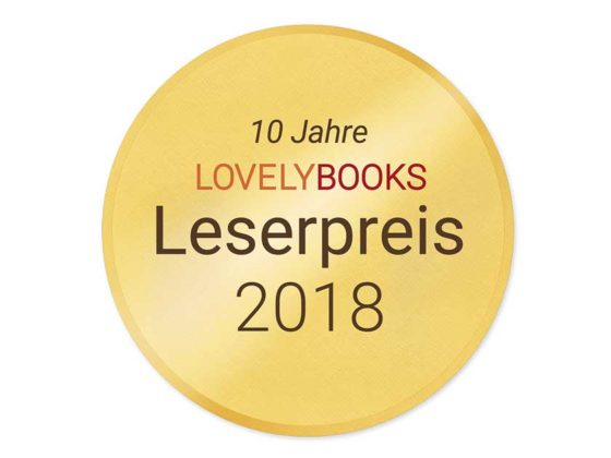 LovelyBooks Leserpreis 2018