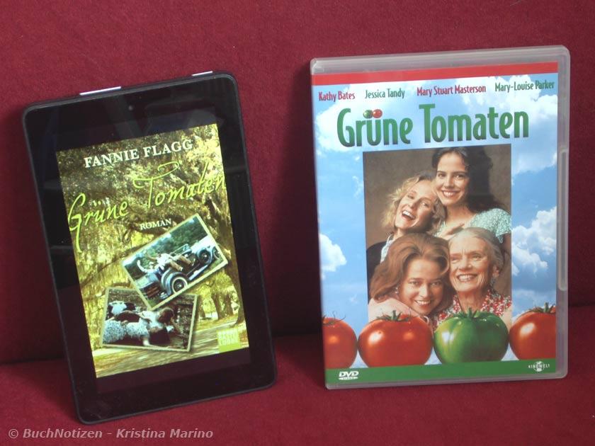 Cover Grüne Tomaten - Buch und Film