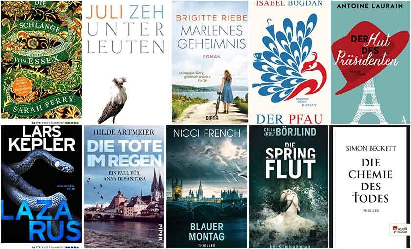 Top Ten Thursday - neue autoren