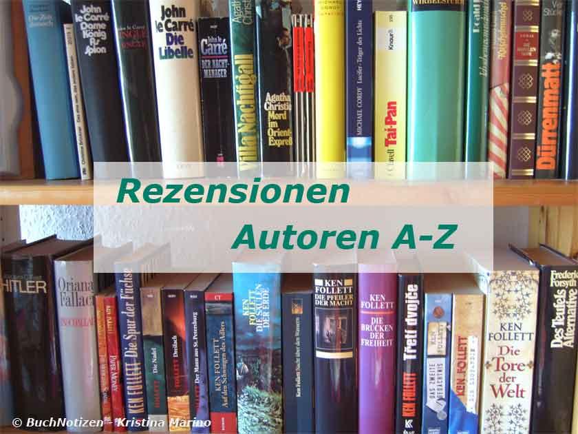 Rezensionen und Autoren A-Z
