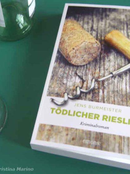 Cover Kriminalroman Tödlicher Riesling