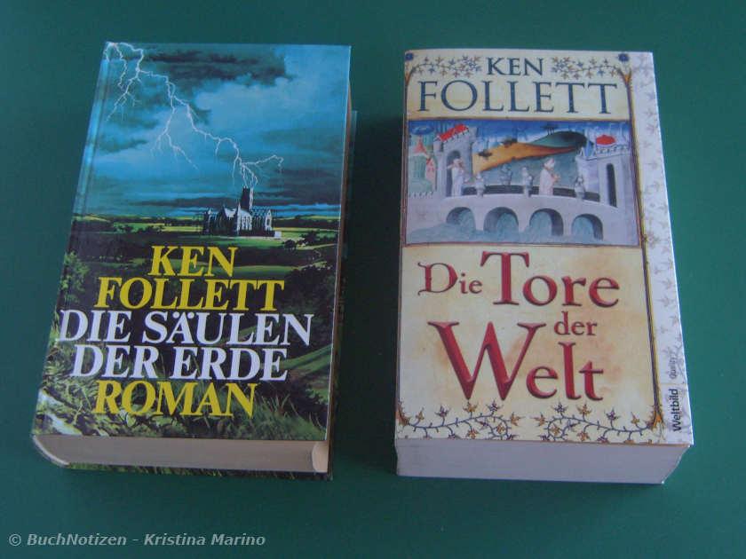 Die ersten zwei Bände der Kingsbridge Trilogie
