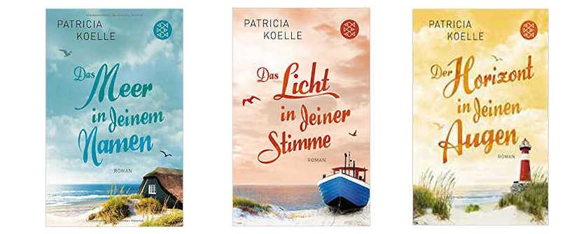 Die drei Bände der Ostsee Trilogie