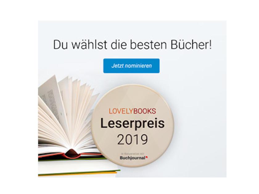 LovelyBooks Leserpreis 2019