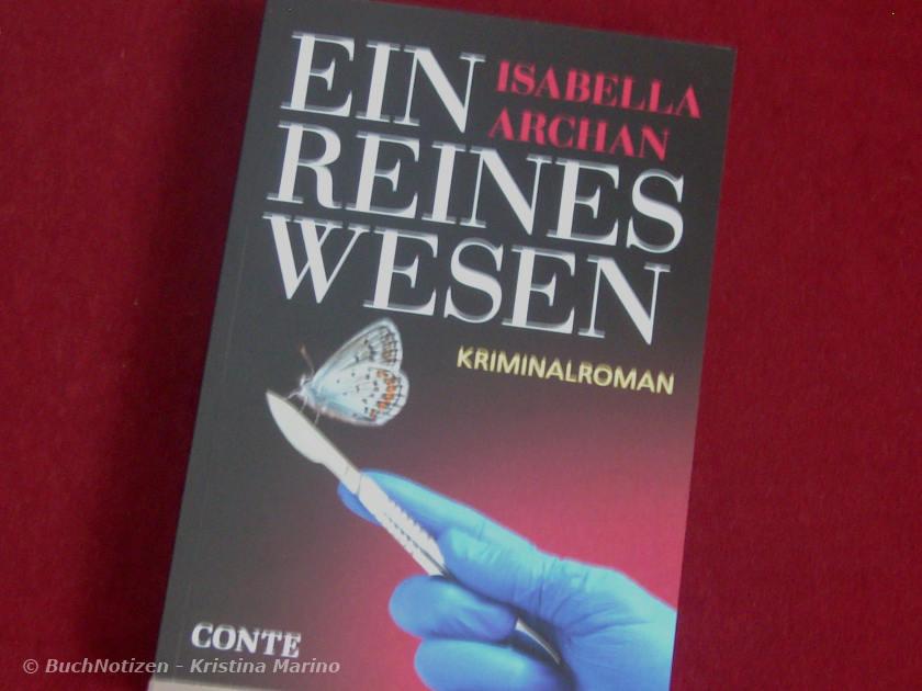 Cover Ein reines Wesen