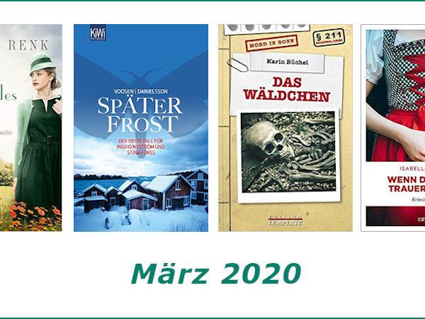 Rückblick März 2020