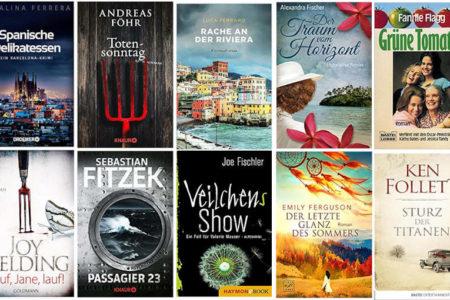 Top Ten Thursday #480 - Autoren ABC – F