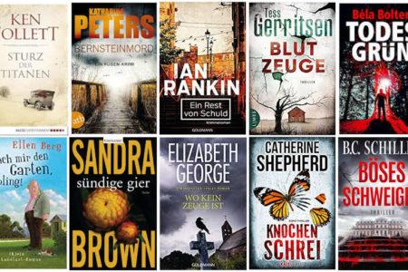 Top Ten Thursday #486 - Autoren mit den meisten Büchern in meinem Bücherregal
