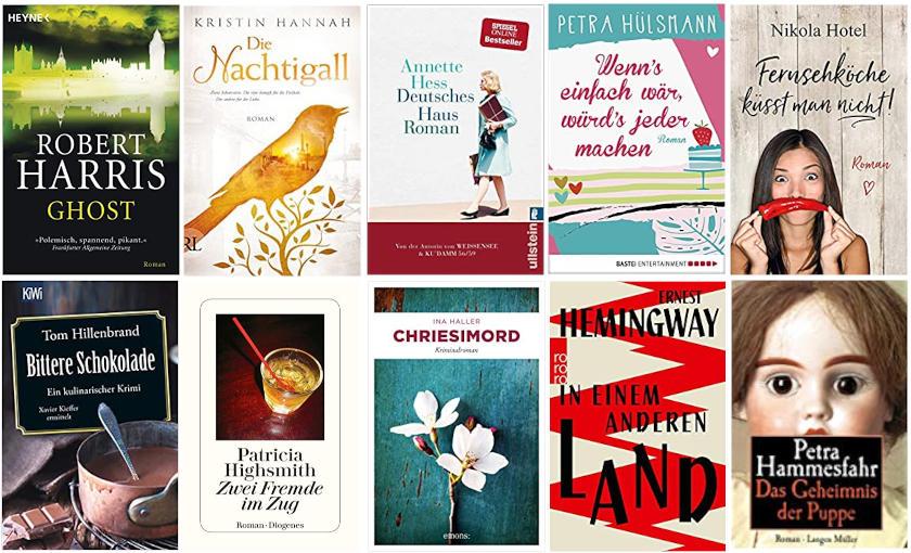 Top Ten Thursday Autoren ABC - H