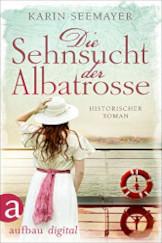 Cover Info Die Sehnsucht der Albatrosse