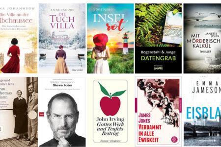 Top Ten Thursday #493 - Autoren ABC – I und J