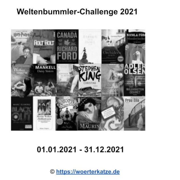 Logo Weltenbummler Challenge 2021