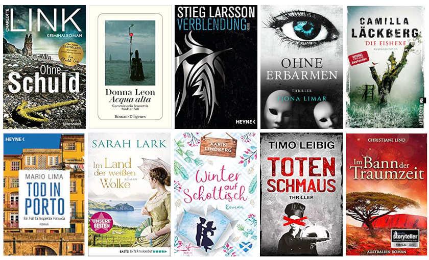 Cover Top Ten Thursday Autoren ABC L