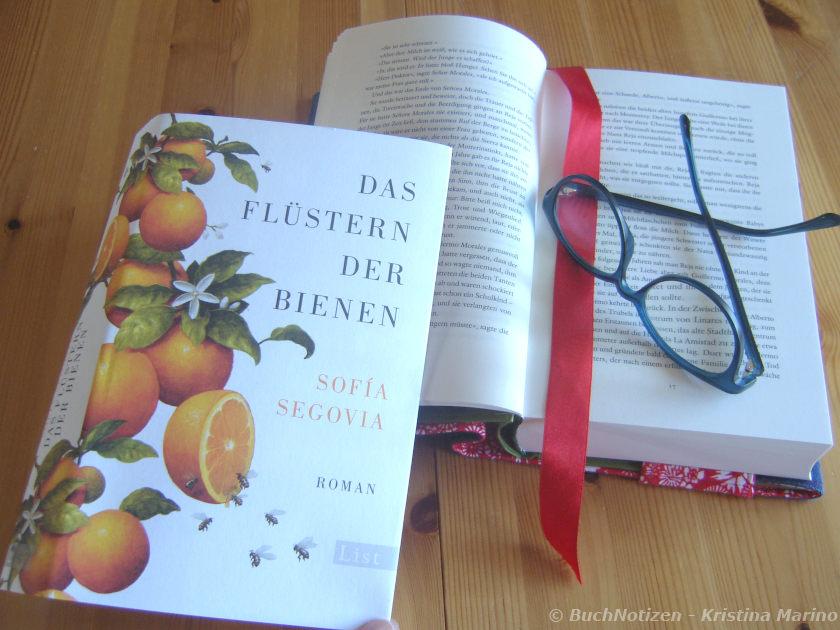Cover und Buch Das flüstern der Bienen