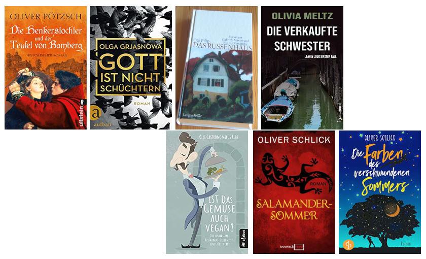 Top Ten Thursday - Autoren mit O