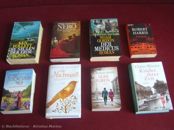Top Ten Thursday #518 - Historische Romane