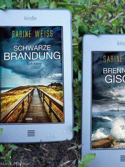 Cover Sylt-Krimi-Reihe mit Liv Lammers