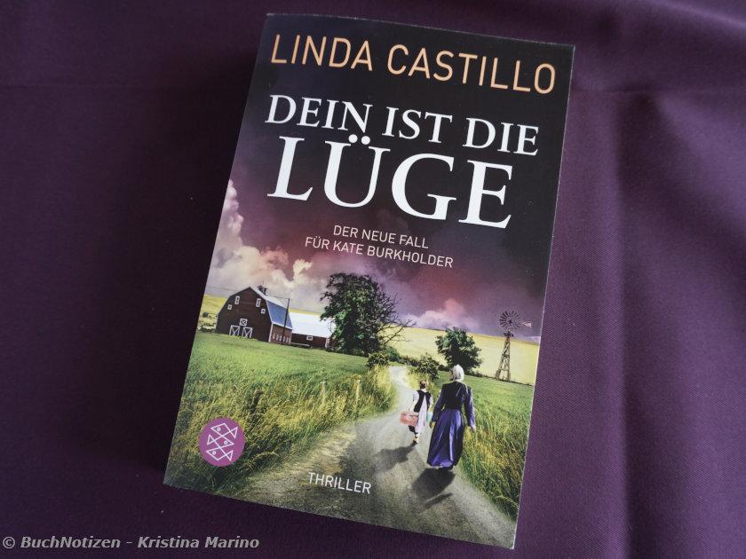 Cover Dein ist die Lüge von Linda Castillo
