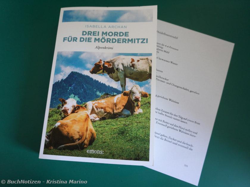 Cover Drei Morde für die MörderMitzi